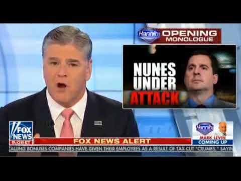 Sean Hannity tonight 2 5 18 Hannity Fox News Today ...