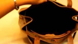 Jane Yoo HB 548 MORAE Hand Painted Leather Handbag