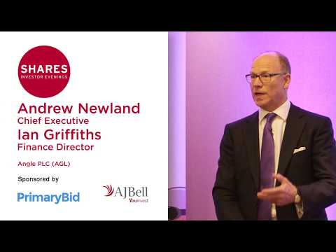 Andrew Newland, Chief Executive and Ian Griffiths, Finance Director of ANGLE (AGL)