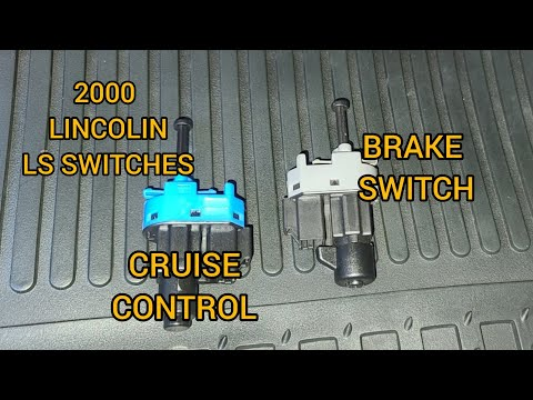 2000 Lincoln Ls Cruise Control and Brake Switch Replacement – DIY