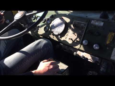 Shifting M920 with Cat 7155 semi auto trans empty load