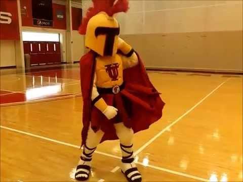 Custom Spartan Mascot Costume