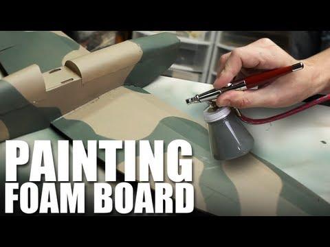 Flite Test - Painting Foam Board - TIP
