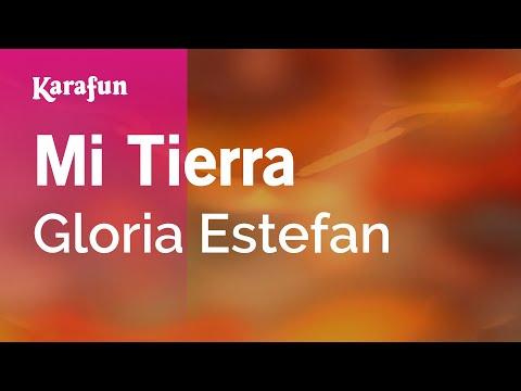 Karaoke Mi Tierra - Gloria Estefan *