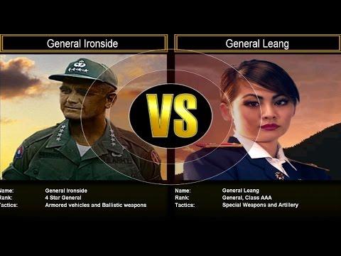 Shockwave Challenge Mode: General Ironside VS General Leang
