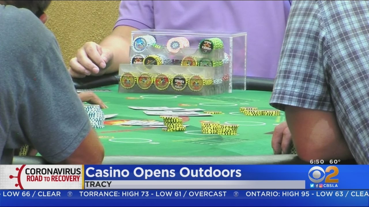 Casino Opens Outdoors In Tracy