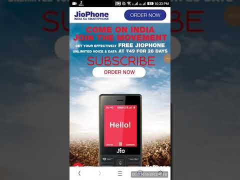 How to Book Jio phone online -(COD),(ONLINE PAYMENT)