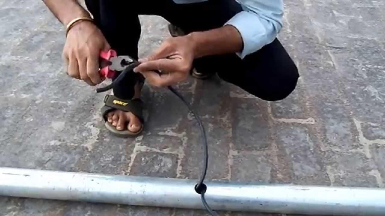 Solar Street Light Installation Part 1 Youtube Circuit