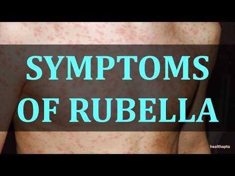 SYMPTOMS OF RUBELLA