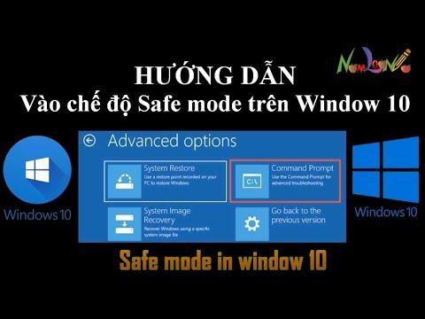 Cách vào chế độ Safe mode trên Window 10 | namloan ✔️