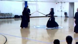 Kendo 2012 Japan Highschool Team vs USA SoCal Youth: Jiho