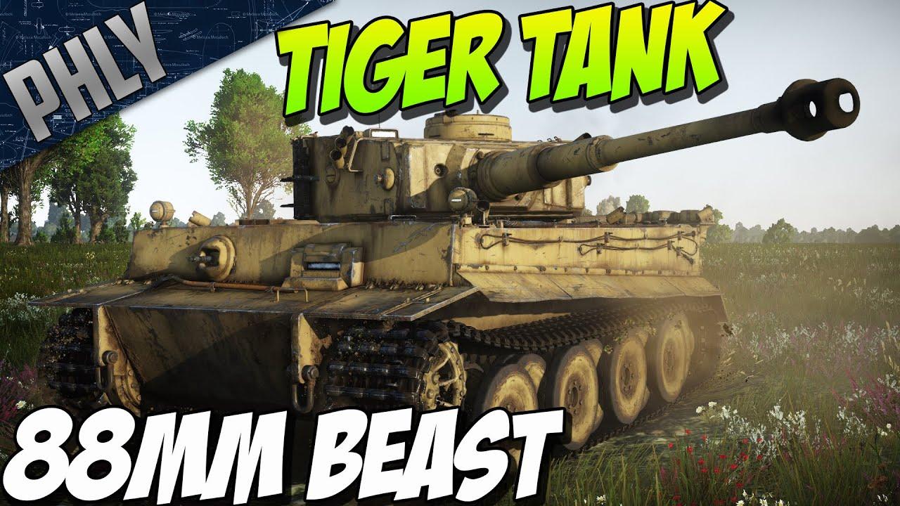 BATTLE OF KURSK! TIGER OWNAGE! War Thunder Tanks Gameplay
