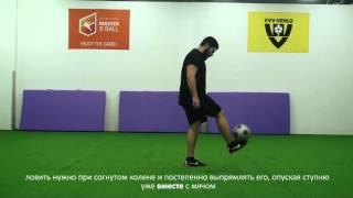 Фристайл. Урок 2 Фиксация мяча на ступне