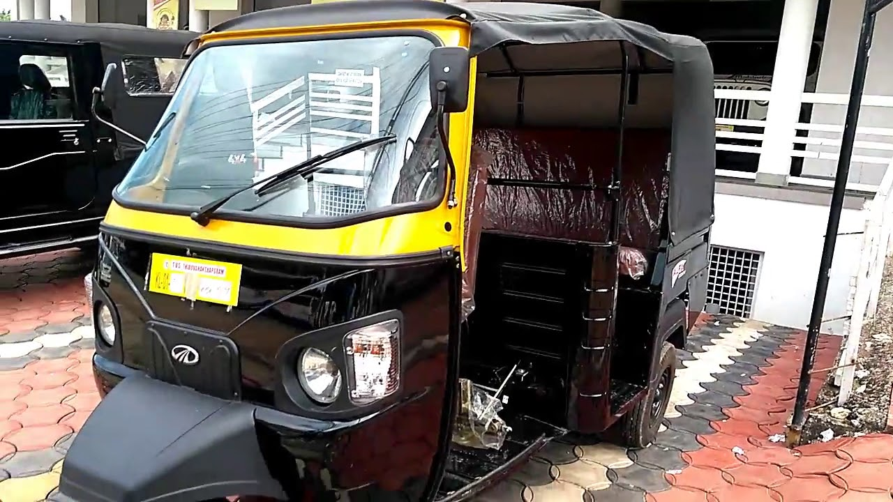 2017 All New Mahindra Alfa Comfy Auto Rickshaw Complete Review
