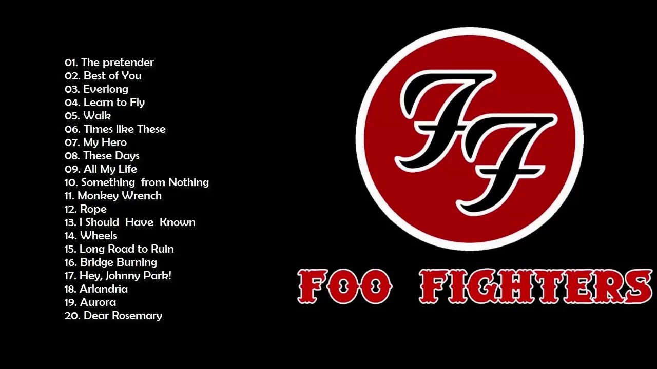 Foo Fighters Greatest Hits Full Album 2019  - The Best Of  Foo Fighters