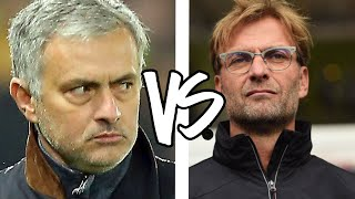 jurgen klopp vs jose mourinho   liverpool vs manchester united   2016 17 rivalry preview