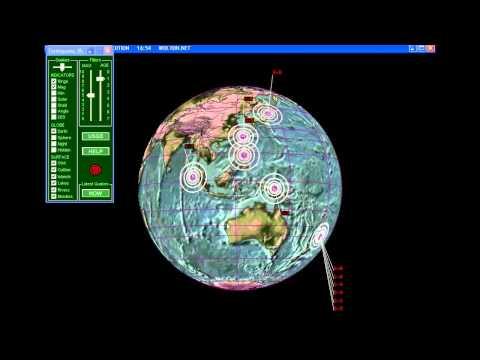 ALERT! Kermadec Islands,New Zealand 6 Quakes