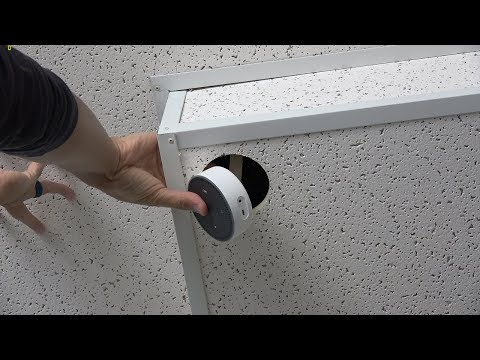 Installing Amazon Alexa ~IN~ Your Ceiling