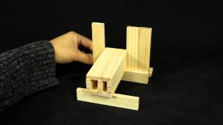 Citiblocs 50 Piece Natural Wooden Building Blocks #0bctbsl50