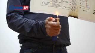 видео Производство самоклеющихся знаков и плакатов безопасности из самоклеющейся пленки