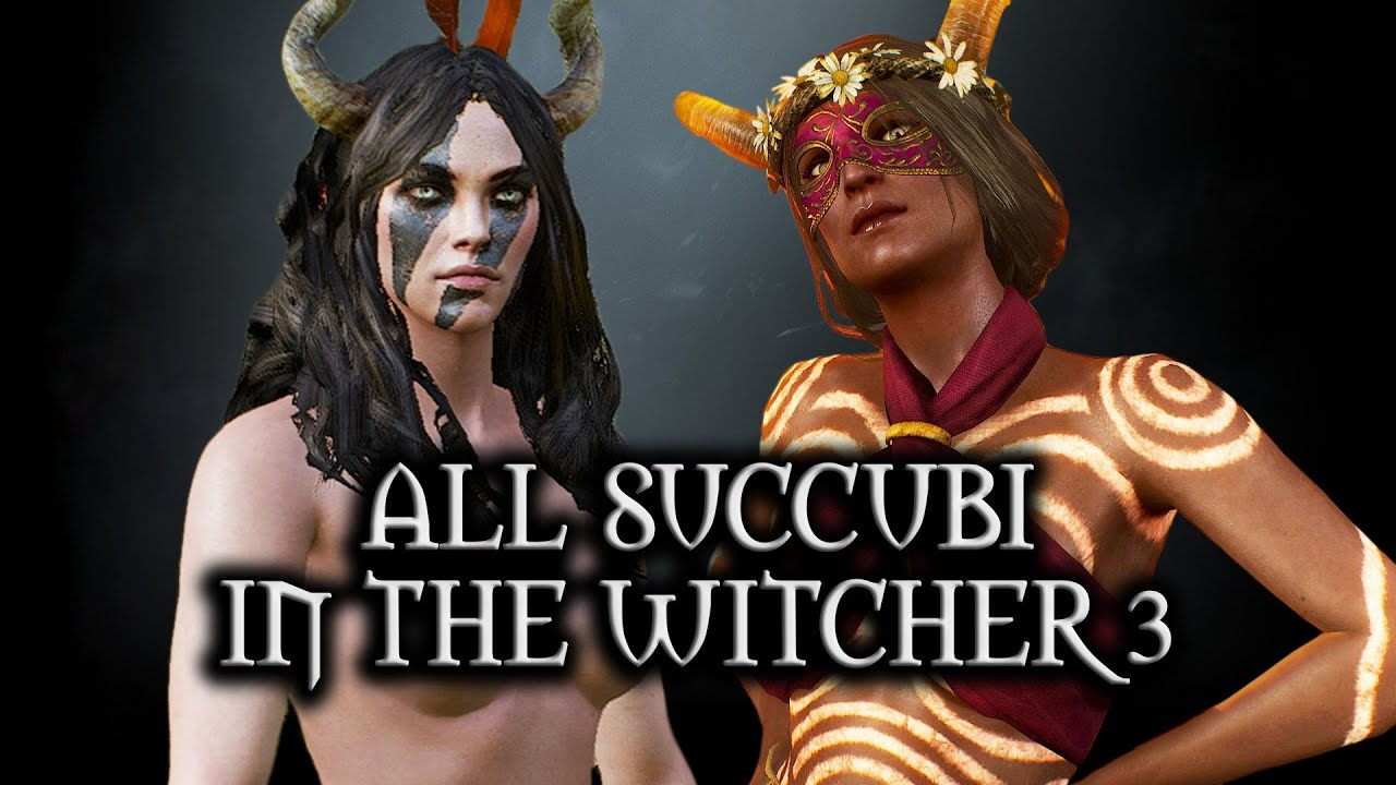 Succubus the blacksmith witcher Temptation