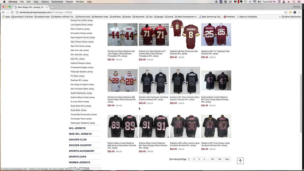 7b53c18ed Part 2 Nfl Jersey Scam - YouTube