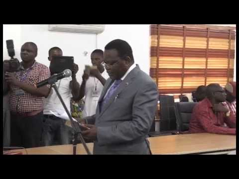 Swearing in of Auditor-General of Bayelsa State