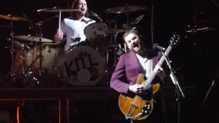 """""""Pyro"""" Kings of Leon@Wells Fargo Center Philadelphia 1/19/17"""