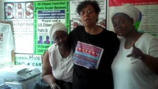 New York Mother Daughter CPS ACS Police Brutality Victims Bring HireLyrics Suitcases of Evidence