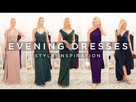Evening Dresses | Styling Maxi Dresses For Black Tie Occasions
