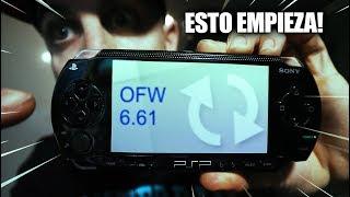 Actualizo mi PSP FAT por USB | 6.61 |  NOV 2018 | MaNu