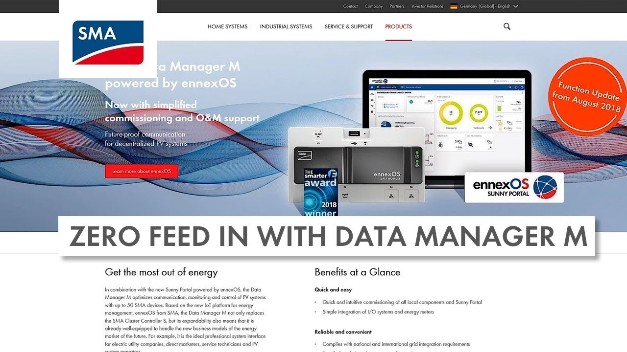 Download Zero Feed In with Data Manager M