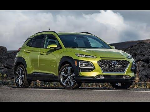 2019 New Hyundai Kona Electric Walk Around Design Features Review