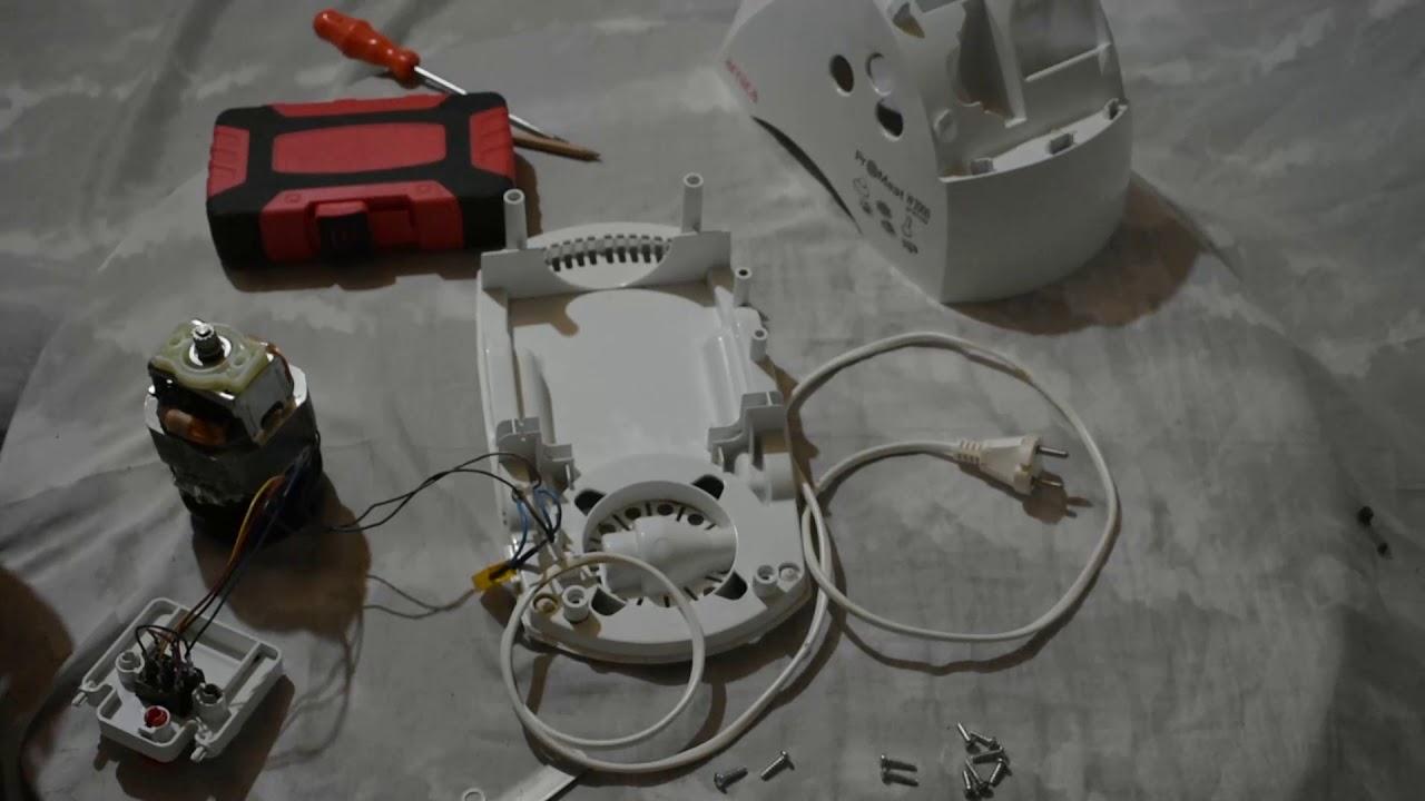 1800 Watt BlueHouse Et Kıyma Makinesi kömür değişimi  BlueHouse Meat Mincer coal replacement