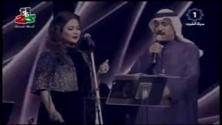 نوال الكويتيه - عبدالله الرويشد - حبيبة قلبي | فرحة الاحمدي  | 2017