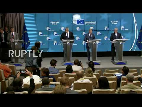 Live: European Council convenes in Brussels, day 2: press conference by Tusk and Juncker