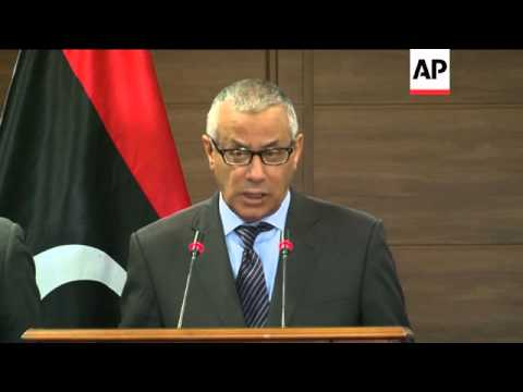 PM Ali Zidan on standoff between militia and government forces