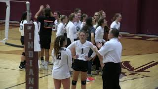 Licking Lady Wildcat Volleyball 2 - Strafford 1