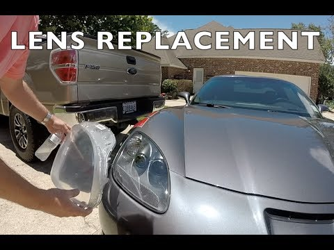 C6 Corvette Headlight Lens Replacement - INSTALL & REVIEW - DIY