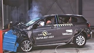 Fiat Tipo (2016) CRASH TESTS Euro NCAP