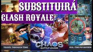 SUBSTITUTO DO CLASH ROYALE ESTAR POR VIM ! SERA ?
