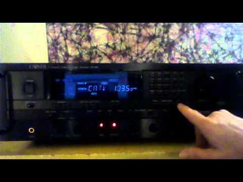 my carver hr 895 pro logic dolby stereo receiver december 11 2011 rh youtube com Carver Av 705X Manual Carver Amplifier