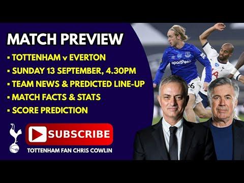 Everton Vs Tottenham Line Up : Everton Vs Tottenham ...