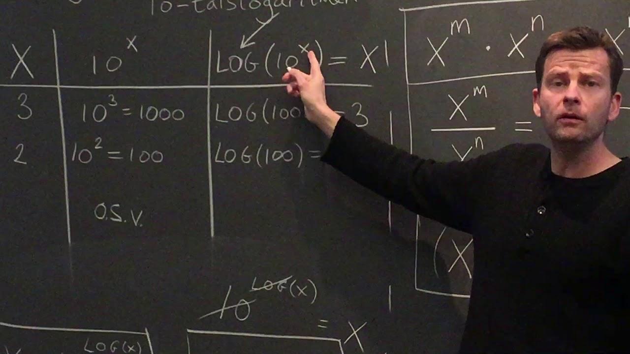 Logaritme funktioner - beviser