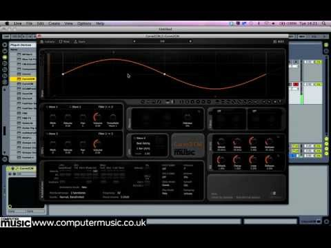 Curve 2 CM - FREE soft synth plugin for PC and Mac - only with Computer Music magazine