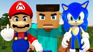 YouTube 2020 IN A NUTSHELL (Ft. Sonic, Mario, and Minecraft Steve) COPPA