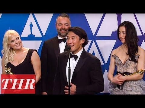 Oscars Winners for 'Free Solo' Full Press Room Speech | THR