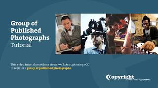Group Registration of Published Photographs: Tutorial (2018) thumbnail