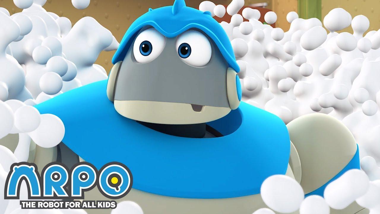 Machine Wachine ATTACK - ARPO the Robot | 에피소드를보고 | Cartoons for Kids | Robot Animation