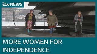 More women supporting Scottish independence | ITV News
